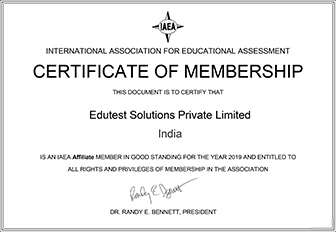certificate- Paper Based Examination Service India
